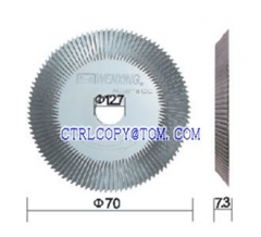 100-Tooth double sided C.C cutter [For BW201-C、201D、100E1、100F、100F1]